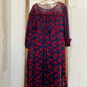 Madewell x No6 Magical Dress in Vintage Rose